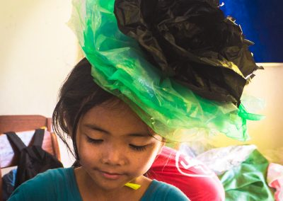 flower-hat-plastic-recycle-upcycle