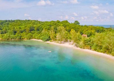 island-ocean-beach-hut-aerial