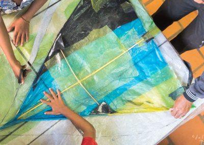 kite-crafting-children-plastic-material