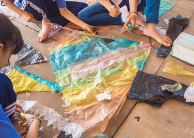 kite-multicolor-homemade-plastics-project