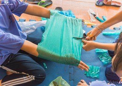 plastics-recycling-children-craft-cut