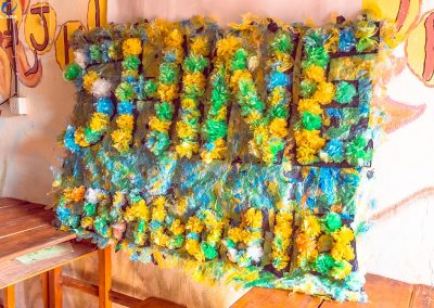 flower-craft-schoolchildren-shine-plastic