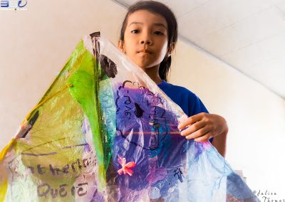 kite-child-project-recycle-plastic