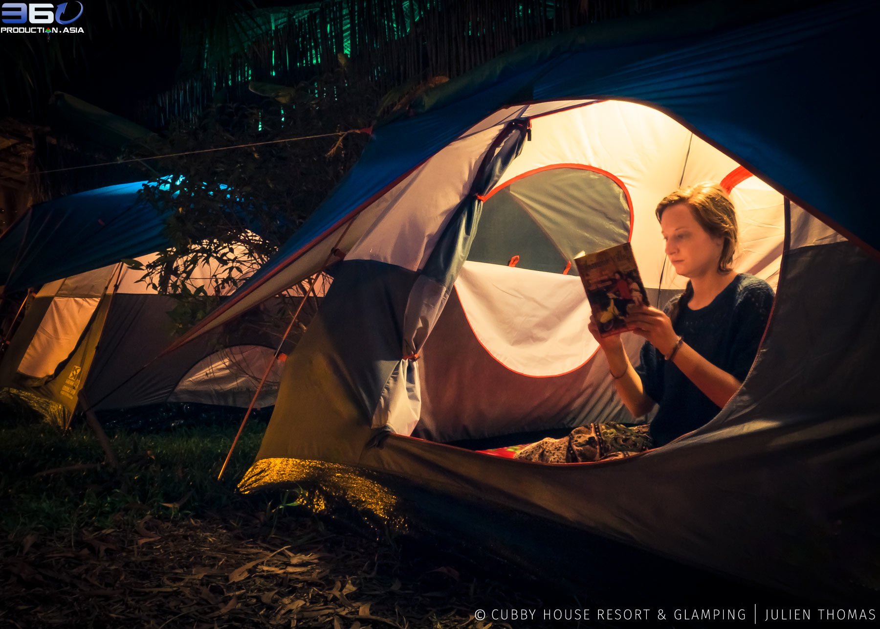 Cubby House Resort & Glamping in Otres Village Cambodia, still-photograph for business marketing and promotional needs by Julien Thomas, 360° Production Asia