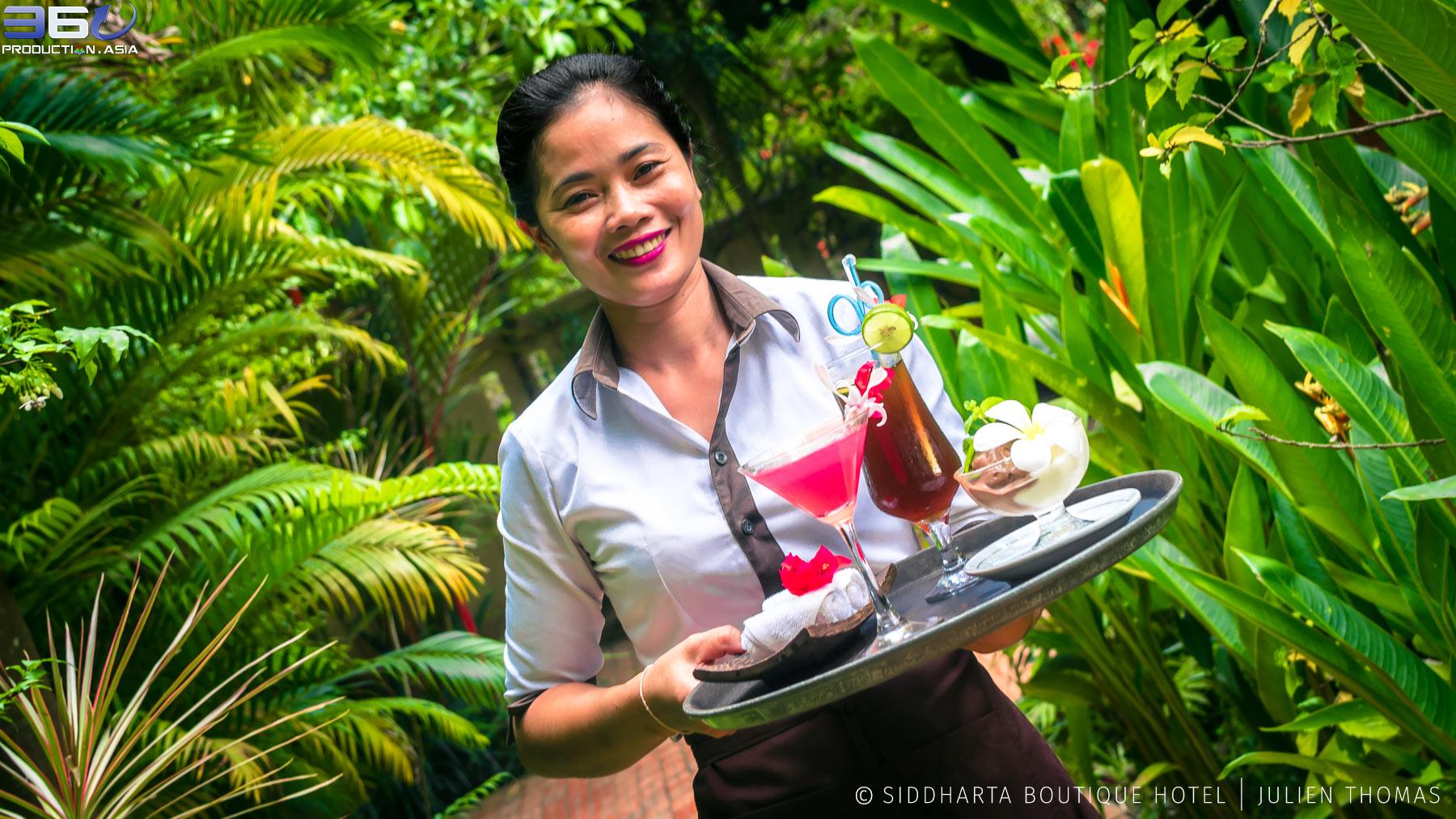 in Siddharta Boutique Hotel, Siem Reap - Cambodia.